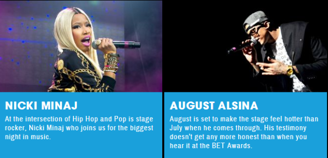 Performers   BET Awards   Shows   BET