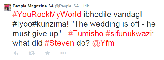 People Magazine SA  @People_SA    Twitter
