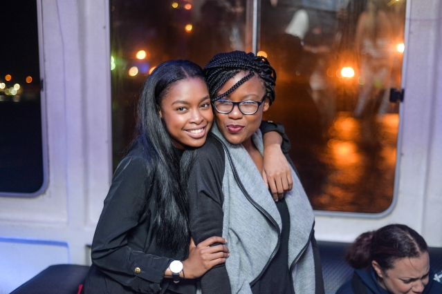 K Naomi Noiyane and Kelebogile Leticia from KLM Publicity