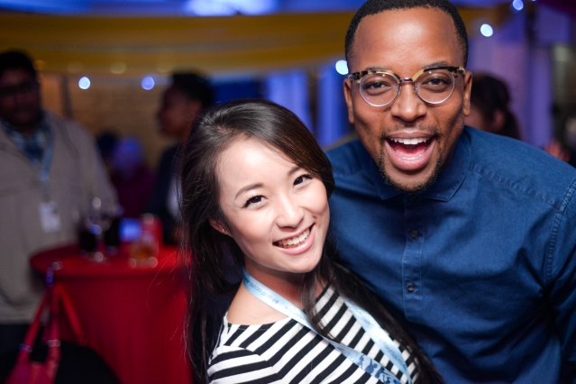 Lifestyle blogger, Mary Lu and Maps Maponyane