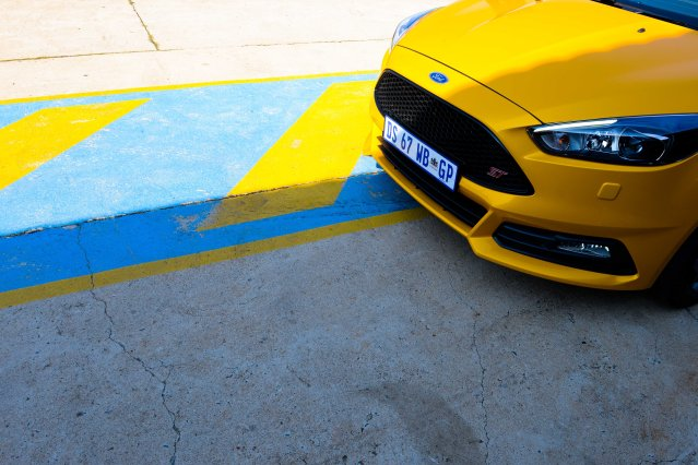 The 2015 Ford Focus ST