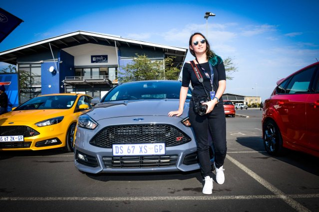 Tegan Smith at the #NewFocusST Launch